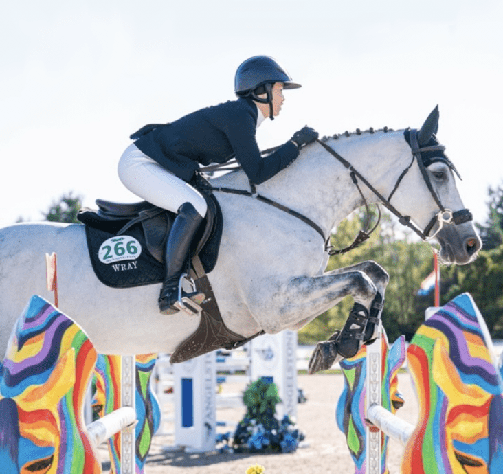 Coconut is taking the win in the 135m Open Welcome at Caledon Equestrian Park!