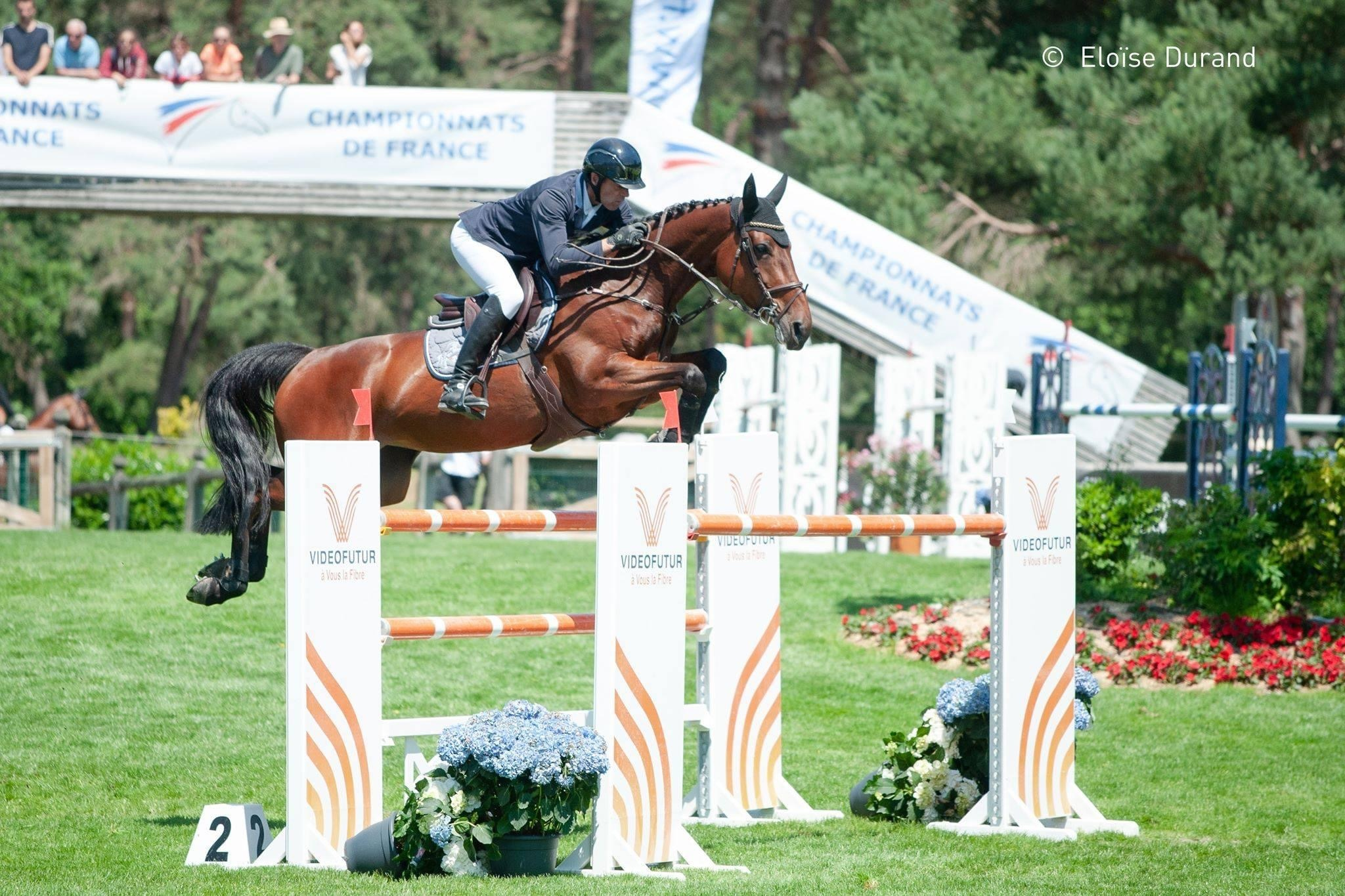 2nd place for ELIZE in the 1.50m of CSI4* Bourg en Bresse (FRA)