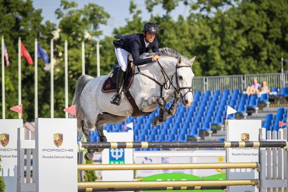 Lady clear in the 1.50m CSIO5* Sopot