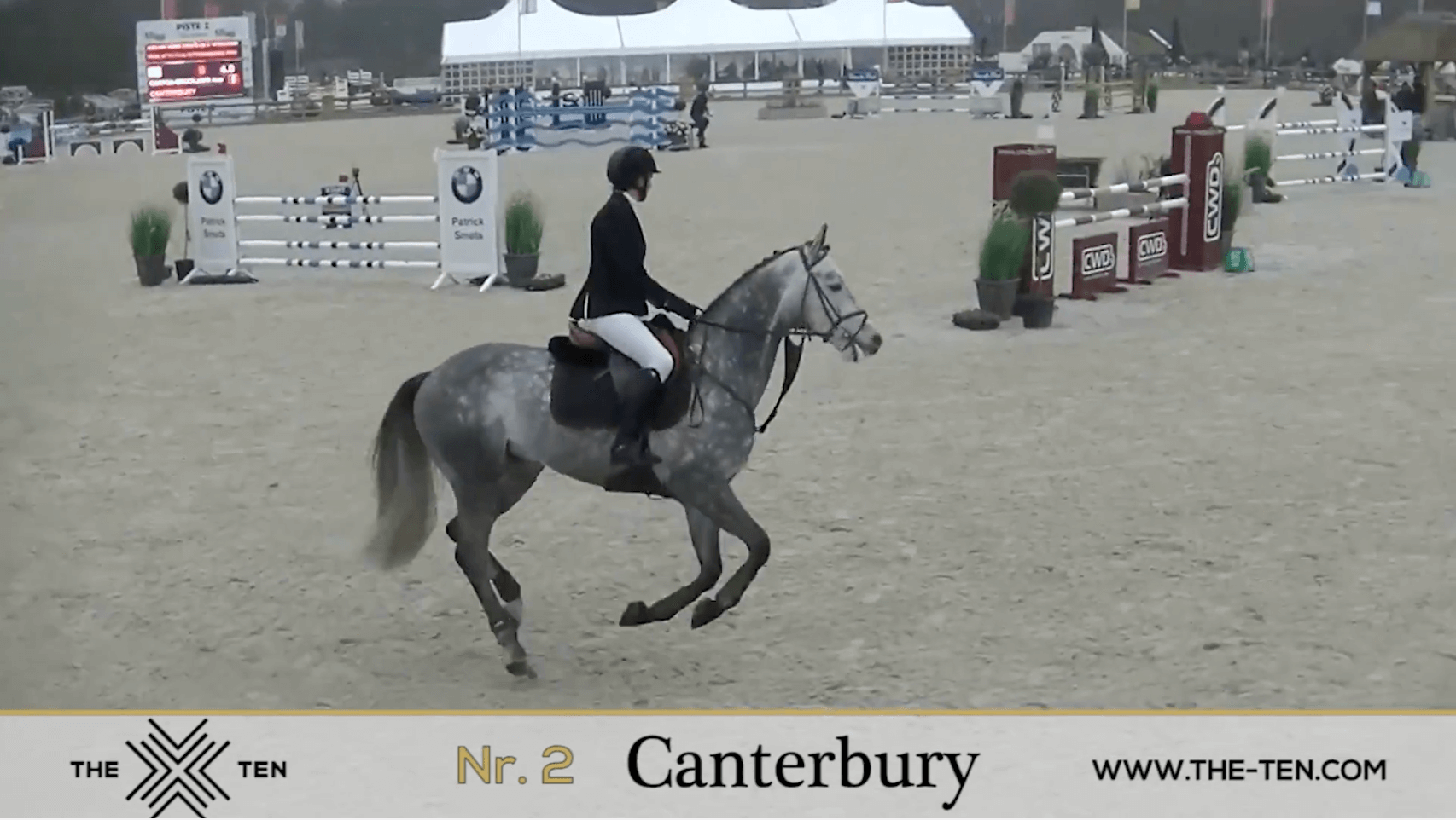 Three clear rounds for Canterbury