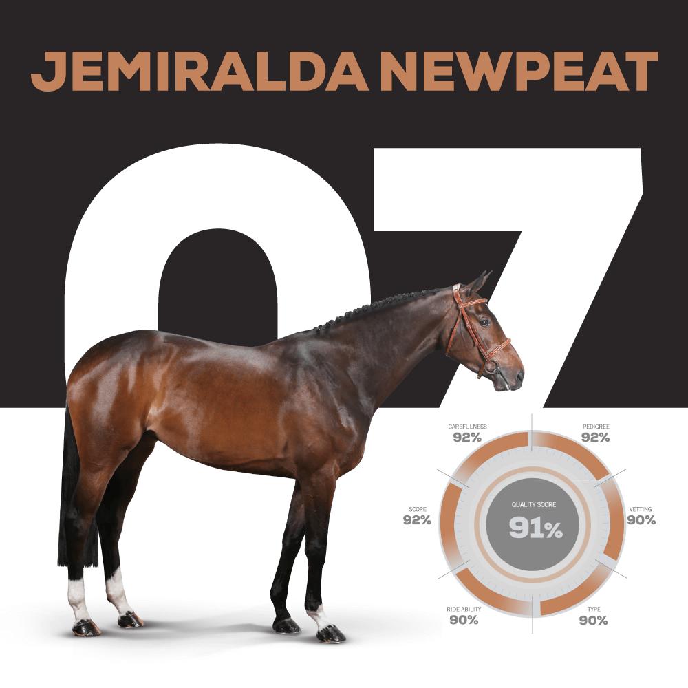 JEMIRALDA NEWPEAT – Catalogue Number 7