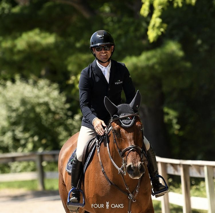 10th place for Massimo 37k 1.45m Speed at Traverse City Horse Show!